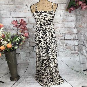 Soma Intimates Pocketed Maxi Animal Print Dress